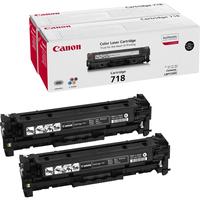 Canon toner: CRG-718 Bk VP - Zwart