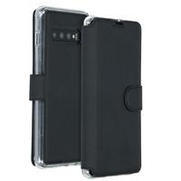 Xtreme Wallet Booktype Samsung Galaxy S10 Plus - Zwart - Zwart / Black Mobile phone case