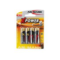 1x4 Ansmann Alkaline Mignon AA X-Power