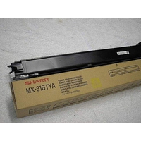 Sharp toner: 15.000pages yellow - Geel