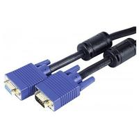 CUC Exertis Connect Cable VGA Male - VGA Female, 20 m - Black VGA kabel  - Zwart