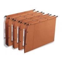 L-Oblique hangmap: Hangmap AZV 350/275 50mm oranje/ds 25