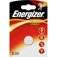 Energizer batterij: CR2032 3V Lithium Coin Cell Card of 1 - Zilver