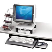 Fellowes Underdesk toetsenbordlade toetsenbord accessoire - Grafiet