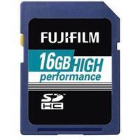 Fujifilm flashgeheugen: 16GB High Performance SDHC Class 10