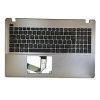 ASUS Keyboard, UK/English Notebook reserve-onderdeel - Zwart, Zilver