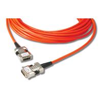 Opticis Hybride DVI verlengkabel. Lengte: 30. Eenh. 1 stk DVI kabel  - Oranje