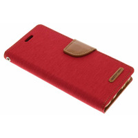 Canvas Diary Booktype Samsung Galaxy S8 - Rood / Red Mobile phone case
