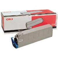 OKI toner: Zwart Toner Cartridge voor C9200/C9400