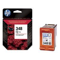 HP inktcartridge: 348 originele foto-inktcartridge - Zwart, Lichtyaan, Lichtmagenta