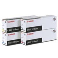 Canon toner: C-EXV17 Toner Yellow - Geel