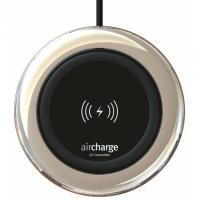 Aircharge oplader: Qi Wireless, Ø95mm x 13.3mm, 212g, Black - Zwart