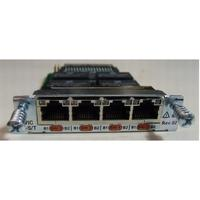 Cisco netwerkkaart: 4-Port ISDN BRI S/T High-Speed WAN Interface Card