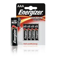 Energizer batterij: 4 x AAA, 1.5V - Zwart, Zilver