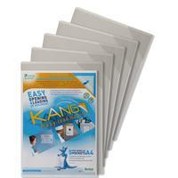 Tarifold ordner: A4, PVC, 5 pcs - Transparant, Wit