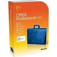 Microsoft software suite: Office 2010 Professional Plus, GOV, OLP-NL, SA