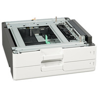 Lexmark printing equipment spare part: 2 x lade voor 500 vel - Zwart