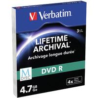 Verbatim DVD: 4.7GB DVD-R