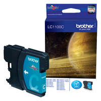 Brother inktcartridge: LC-1100C Inktcartridge cyaan