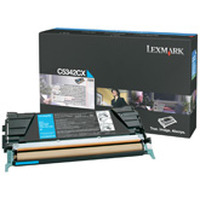Lexmark cartridge: C534 7K cyaan tonercartridge