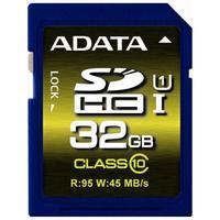 ADATA flashgeheugen: SDHC 32GB - Blauw