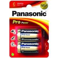 Panasonic batterij: 1x2 LR14PPG - Blauw, Goud, Rood