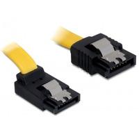 DeLOCK ATA kabel: SATA 0.2m - Geel