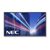 NEC public display: MultiSync P801 - Zwart