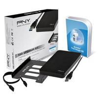 PNY SSD Upgrade Kit Computerkast onderdeel - Zwart