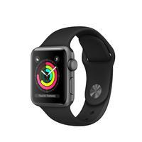 Apple Series 3 Black Aluminium 38mm Smartwatch