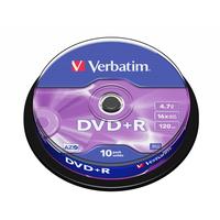 Verbatim DVD: DVD+R Matt Silver
