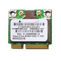 HP Broadcom 4312 802.11b/g (Demi-2) WLAN adapter - Half-size form factor (Most-of-World) netwerkkaart