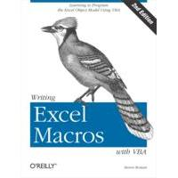 O'Reilly product: Writing Excel Macros with VBA - EPUB formaat