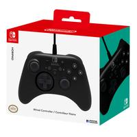 Hori game controller: HoriPad, Nintendo Switch - Zwart