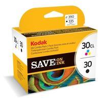 Kodak inktcartridge: 30B + 30C Combo pack - Zwart, Cyaan, Magenta, Geel