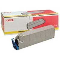OKI toner: Yellow Toner Cartridge for C9200/C9400 - Geel