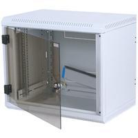 Equip rack: 19'' wall mounted cabinet DELTA 4S, 6U, Light grey - Grijs