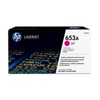 HP toner: 653A originele magenta LaserJet tonercartridge
