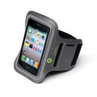 Muvit mobile phone case: Universal Sportsarmband XL - Grijs
