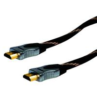 Schwaiger HDMI kabel: 1.5m HDMI - HDMI - Zwart