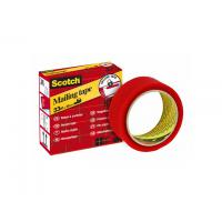 Scotch sealing waxe: SECURE TAPE 35MMX33M ROOD 3M