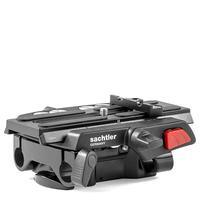 Sachtler Ace Base Plate - 0 – 7 kg, 600 g statief accessoire - Zwart, Rood