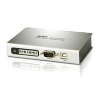 Aten hub: 4 port USB2.0-to-Serial HUB for RS-232 - Zilver