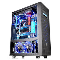 Thermaltake behuizing: Core X71 TG Edition - Zwart