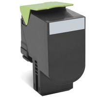 Lexmark cartridge: Toner Zwart, 4000 pagina's, voor CX410de / CX410dte / CX410e / CX510de / CX510dhe / CX510dthe