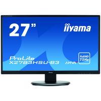 "Iiyama monitor: ProLite X2783HSU-B3 27"" Full HD AMVA+ - Desktop - Zwart"