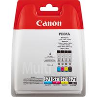 Canon inktcartridge: CLI-571 Multipack - Zwart, Cyaan, Magenta, Geel