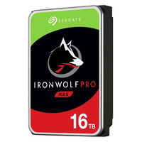 """Seagate IronWolf Pro 16TB 7200rpm 3,5"""" SATA Interne harde schijf"""
