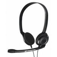 Sennheiser headset: PC 3 Chat - Zwart