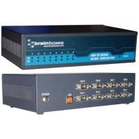 Brainboxes interfaceadapter: 8 Port RS422/485 USB to Serial adapter